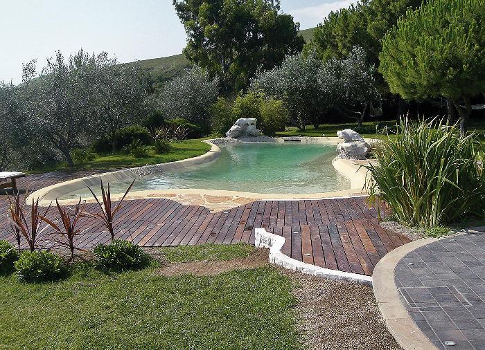 Realizzazione bio piscine monopoli bari piscine - Piscina naturale ...